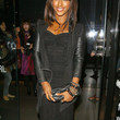 Alexandra Burke Little Black Dress