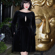 Alexandra Roach Cutout Dress