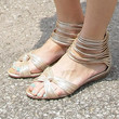 Alexis Bledel Shoes - Flat Sandals