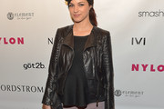Alexis Knapp Leather Jacket