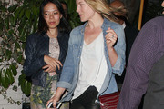 Ali Larter Denim Shirt