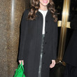 Allison Williams Clothes - Wool Coat