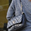 Alyson Hannigan Handbags - Quilted Leather Bag