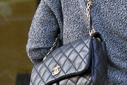 Alyson Hannigan Quilted Leather Bag