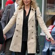 Alyson Michalka Clothes - Trenchcoat