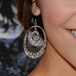 Alyson Stoner Jewelry - Dangling Diamond Earrings