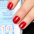 Alyssa Miller  Red Nail Polish