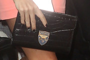 Amanda Holden Leather Clutch