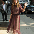 Amanda Peet Clothes - Beaded Dress