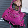 Amber Lancaster Leather Shoulder Bag