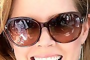 Amy Adams Oversized Sunglasses
