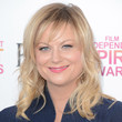 Amy Poehler Hair - Medium Wavy Cut with Bangs