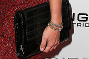 Amy Smart Patent Leather Clutch