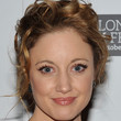 Andrea Riseborough Hair - Bobby Pinned updo
