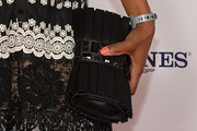 Angela Bassett Gemstone Inlaid Clutch