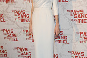 Angelina Jolie One Shoulder Dress