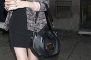 Anna Kendrick Leather Shoulder Bag