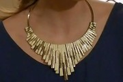 AnnaLynne McCord Gold Collar Necklace