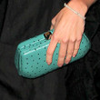 AnnaLynne McCord Leather Clutch