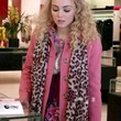 The Carrie Diaries Patterned Scarf