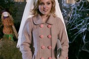 Annasophia Robb Wool Coat