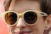 Anne Hathaway Oversized Sunglasses