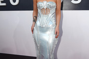 Iggy Azalea Strapless Dress