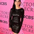 Archie Panjabi Clothes - Leather Dress