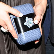 Arielle Kebbel Box Clutch