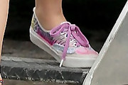 Ashley Benson Canvas Shoes