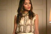 Ashley Madekwe Button Down Shirt