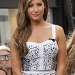 Ashley Tisdale Clothes - Corset Top