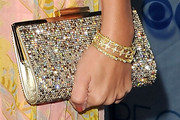 Ashley Tisdale Gemstone Inlaid Clutch