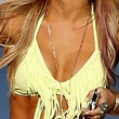 Ashley Tisdale Clothes - Halter Bikini