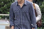 Ashton Kutcher Button Down Shirt