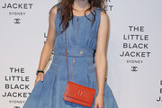 Astrid Berges Frisbey Patent Leather Clutch