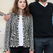 Astrid Berges Frisbey Tweed Jacket