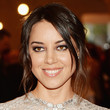 Aubrey Plaza Hair - Bobby Pinned updo