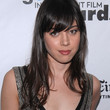 Aubrey Plaza Hair - Long Wavy Cut with Bangs