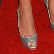 Aubrey Plaza Shoes - Peep Toe Pumps