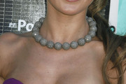 Audrina Patridge Beaded Choker Necklace