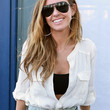 Audrina Patridge Clothes - Button Down Shirt