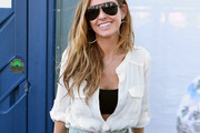 Audrina Patridge Button Down Shirt