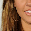 Audrina Patridge Jewelry - Sterling Hoops