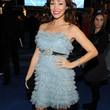 Autumn Reeser Strapless Dress