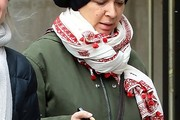 Maya Rudolph Patterned Scarf