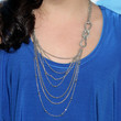 Bailee Madison Layered Sterling Necklace