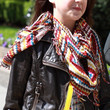 Bailee Madison Patterned Scarf