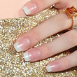 Bella Thorne Beauty - French Manicure