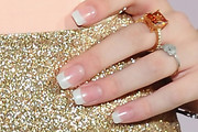 Bella Thorne French Manicure